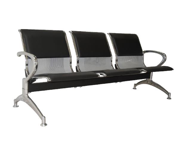 Καθίσματα υποδοχής 3θ μαύρο