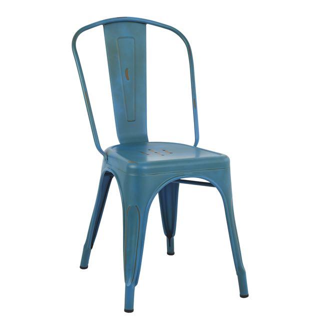 Καρέκλα TOLIX BLUE ΠΑΤΙΝΑ