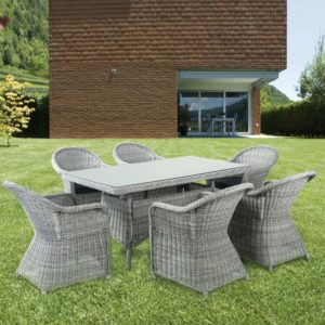 WICKER RATTAN SET N10