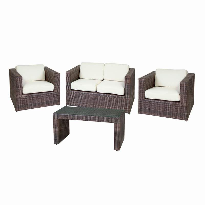 WICKER RATTAN SET N2