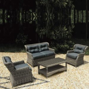 WICKER RATTAN SET N8