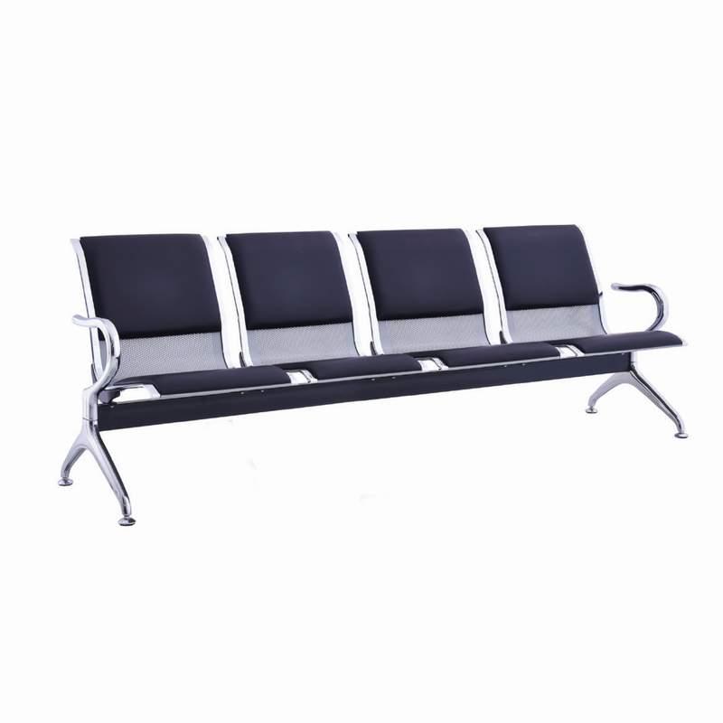 Καθίσματα υποδοχής 4θ μαύρο