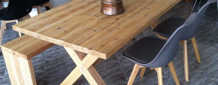 Τραπεζαρία ARMONY από μασίφ ξύλο
