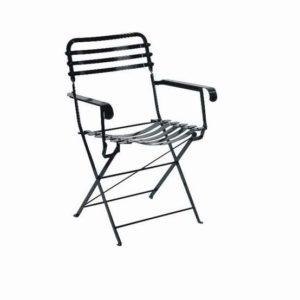 Μεταλλικά τραπέζια σκαμπώ πολυθρόνες καρέκλες Ζαππείου